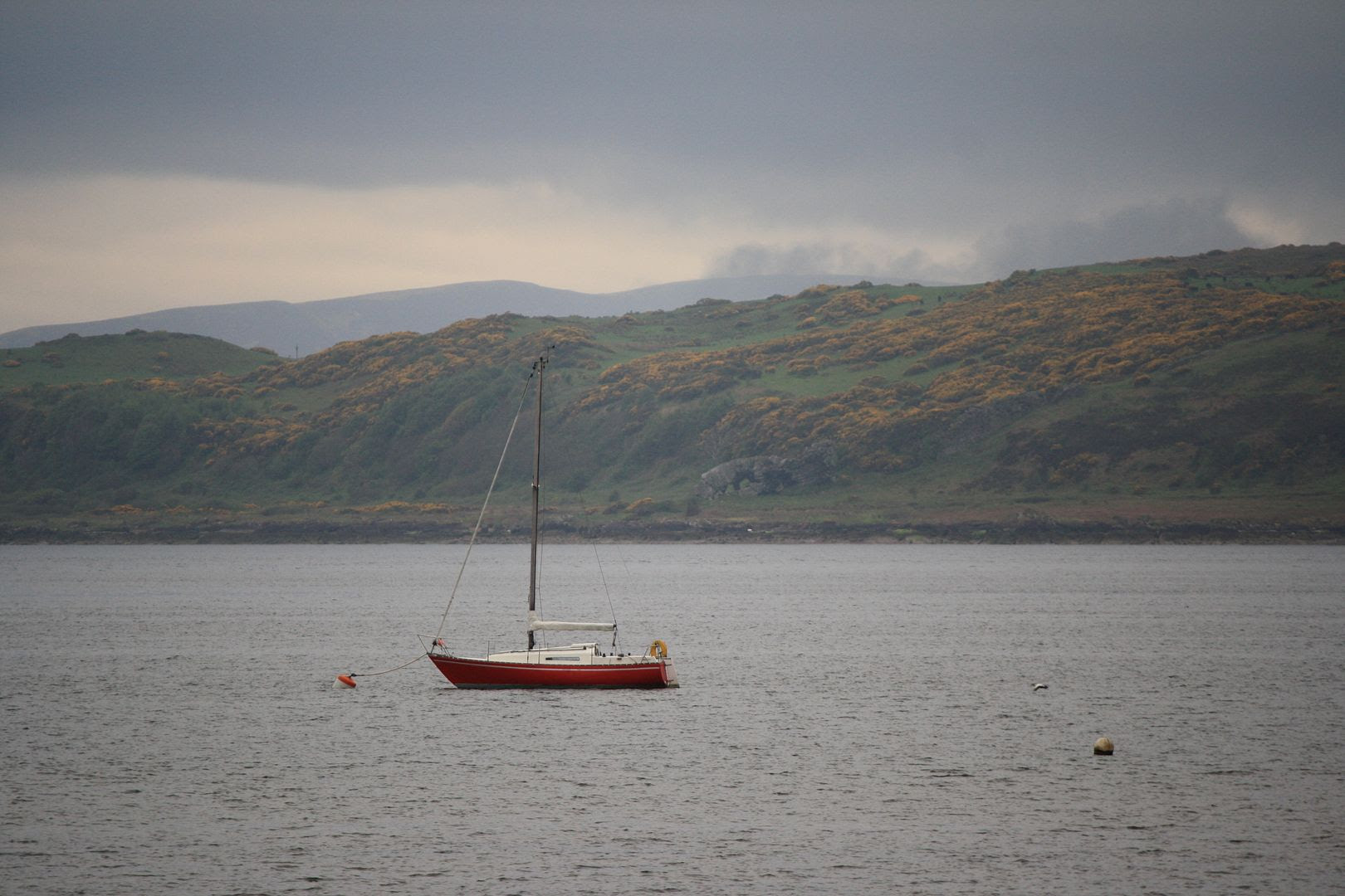 Sailboat in Fairlie, Scotland photo 2014-05-142015_zps39b07329.jpg