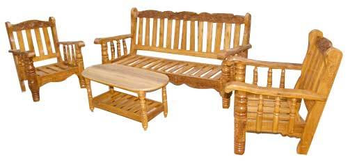 Buat Testing Doang Sample Wooden Sofa Images