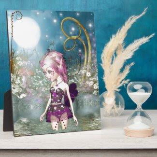 Valentine Fairy Photo Plaque