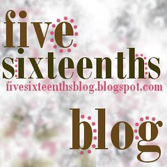 five sixteenths blog button