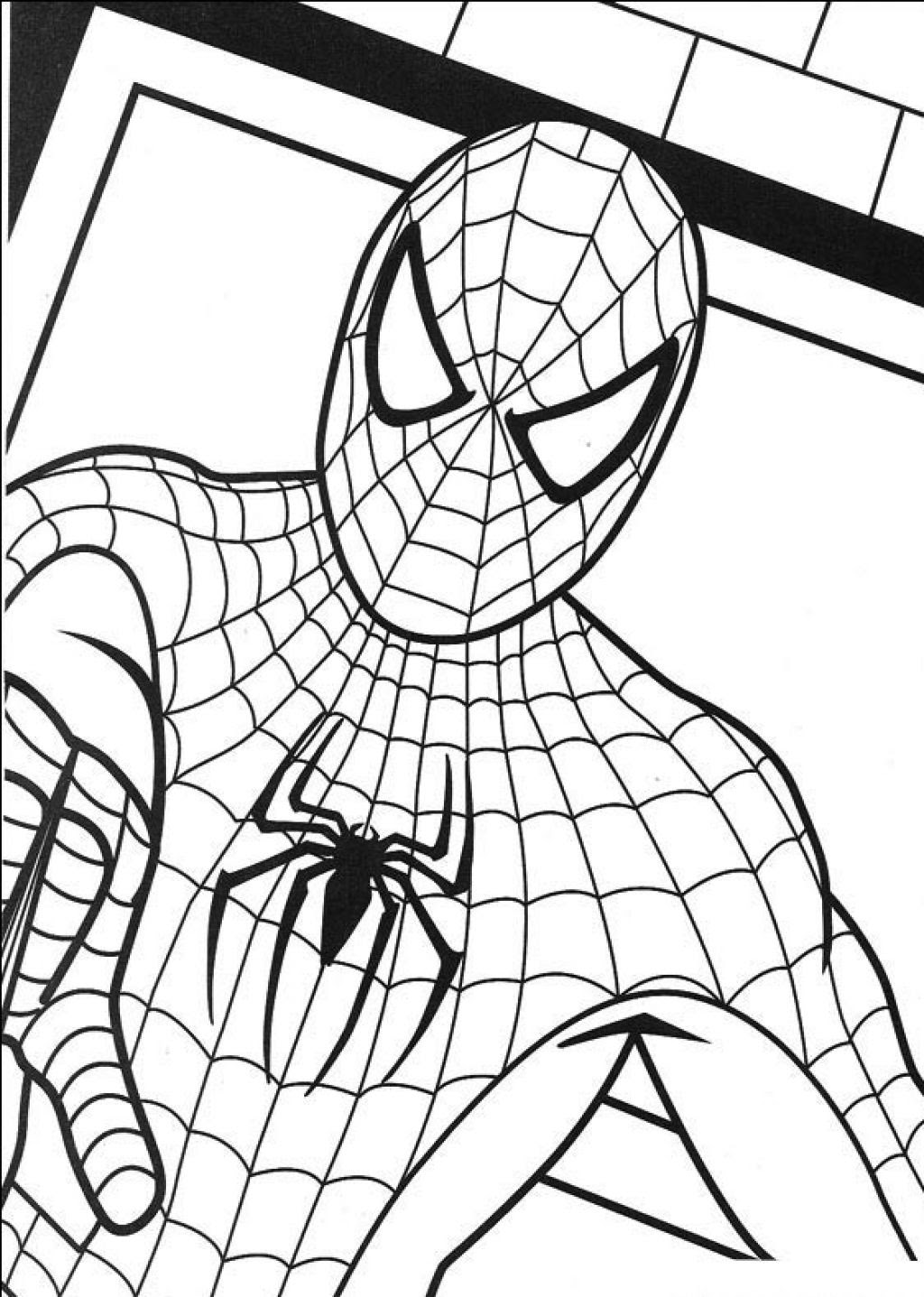 5700 Top Black Spiderman Coloring Pages Free For Free