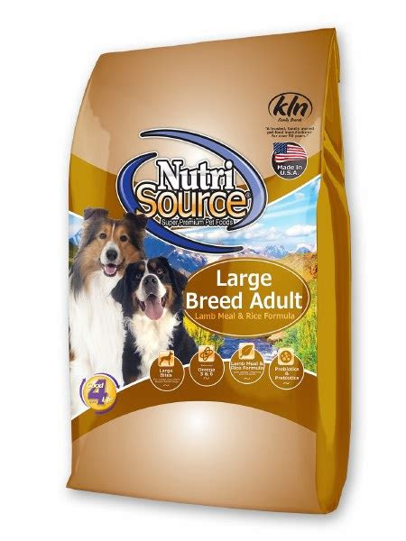 nutrisource large breed adult lamb meal  rice formula