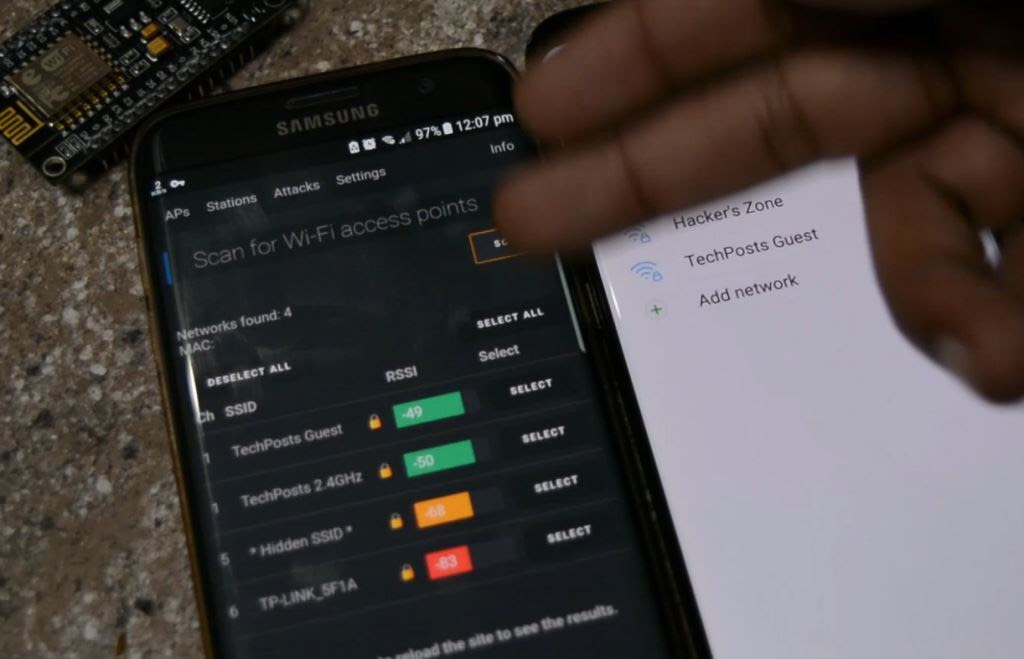 Scan all WiFi Networks