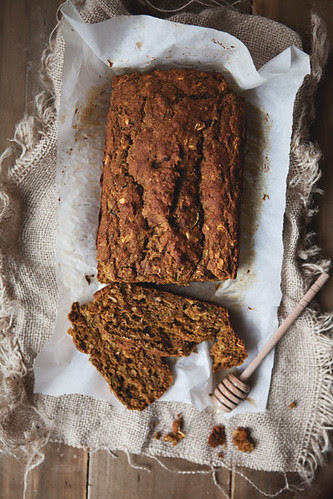 pumpkin and zucchini bread