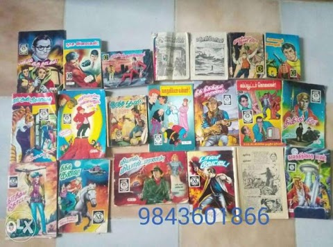 Old Muthu Comics For Sale