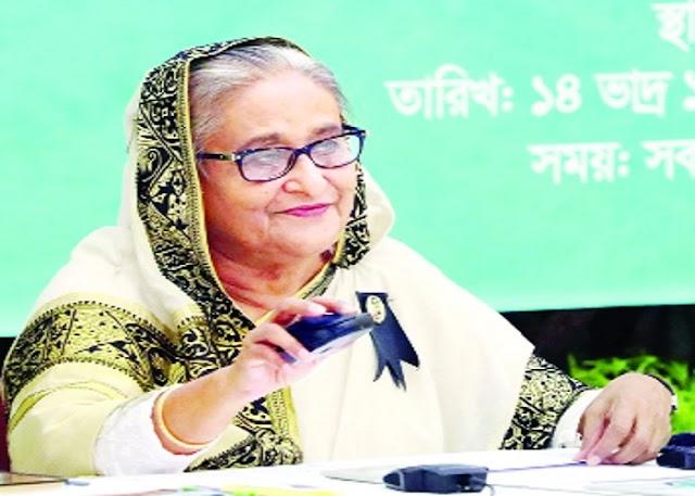 বাংলাদেশ হবে বৈশ্বিক যোগাযোগের কেন্দ্র :প্রধানমন্ত্রী