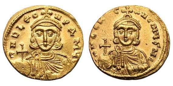Οι δύο εικονομάχοι αυτοκράτορες, Λέων Γ΄ και Κωνσταντίνος Ε΄