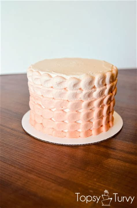 Orange Ombre Smash Cake   Ashlee Marie   real fun with