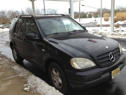 Purchase used 2001 Mercedes Benz ML320 Black SUV ~ 3rd Row ...