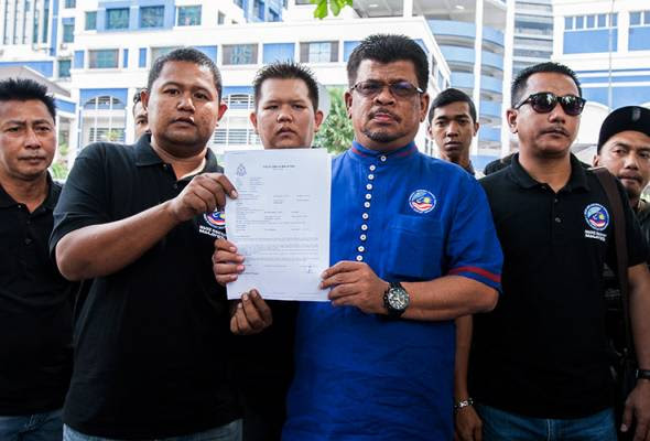 Hina institusi Raja: Nadi Rakyat buat laporan polis terhadap Zahid Mat Arip
