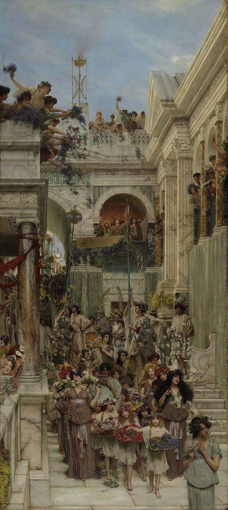 Alma-Tadema - Primavera