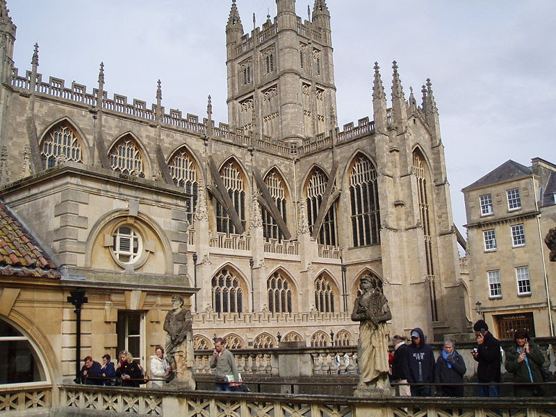 File:Bath Abbey From Roman Baths Gallery.jpg