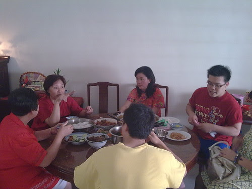 First day of Chinese New Year, family gathering at uncle's house 2