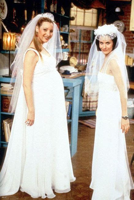 "The one with all the wedding dresses. . . ""At least you"