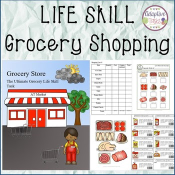 Grocery Shopping Ultimate Life Skill Task