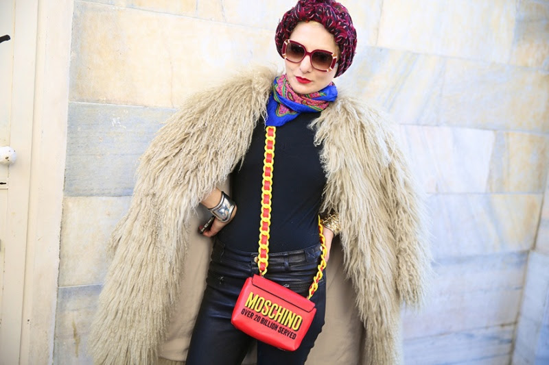 Street Style at Milan Fashion Week A/W 2014 (part 1)