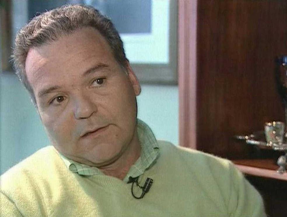 Getúlio Dornelles Vargas concede entrevista à TV Globo para reportagem exibida em 2004  (Foto: Cedoc/RBS TV)