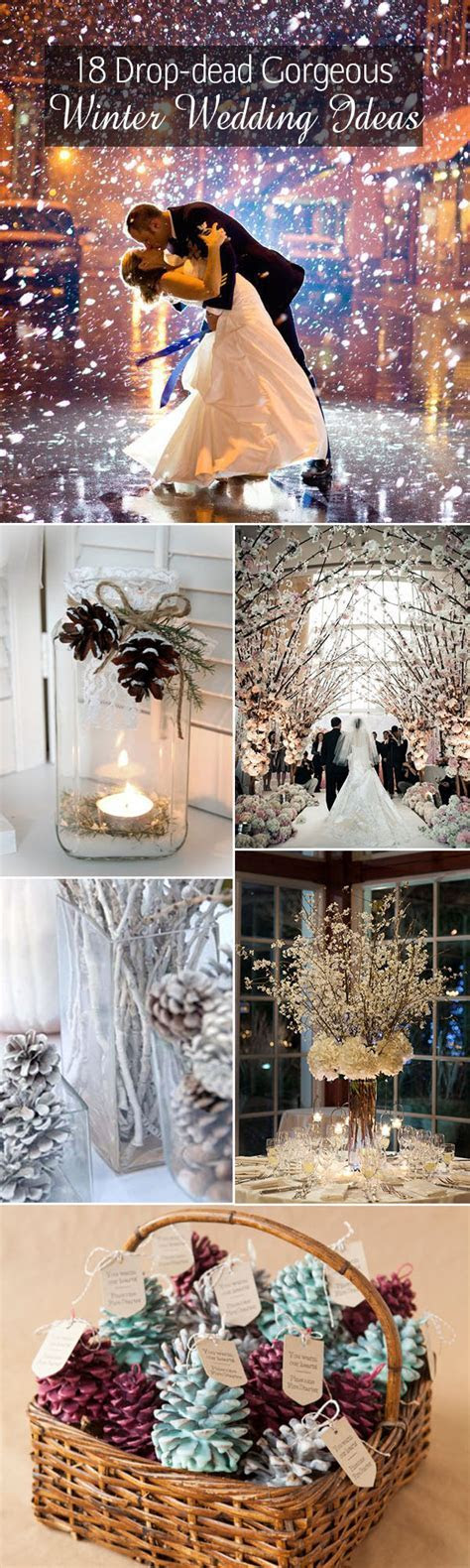 18 Drop Dead Gorgeous Winter Wedding Ideas For 2015