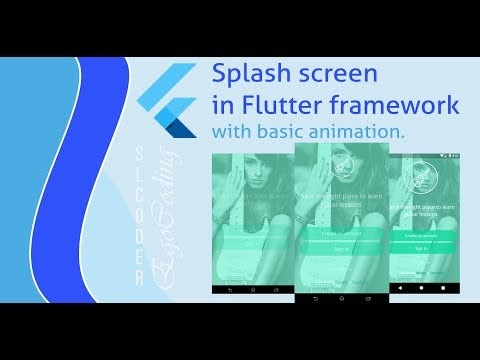 slcoder - Ego with Coding: Splash screen in flutter with basic