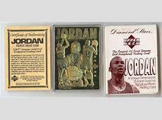 Cards Collection & Sports: Michael Jordan Gold Card