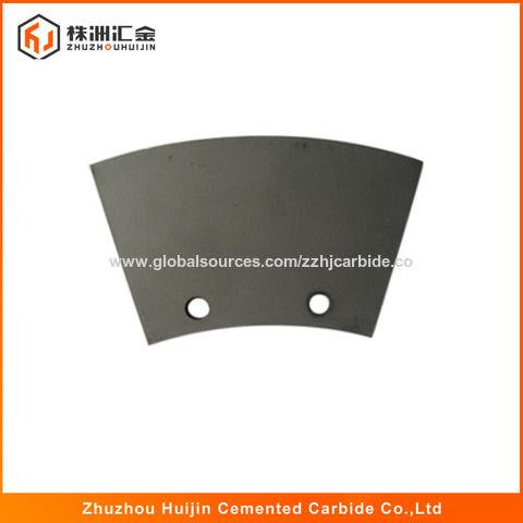 Tungsten carbide tipped circular slitter blade