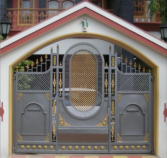 Royal Entry Gate Cast Iron Gates Decorative Gates Front Entrance