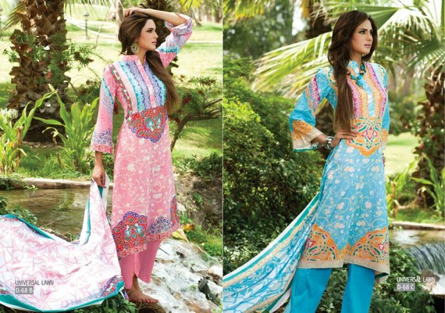 Sitara-Universal-Exclusive-Summer-Latha-Lawn-Collection-2013-Vol2-Famous-Actress-Model-Fiza-Ali-8