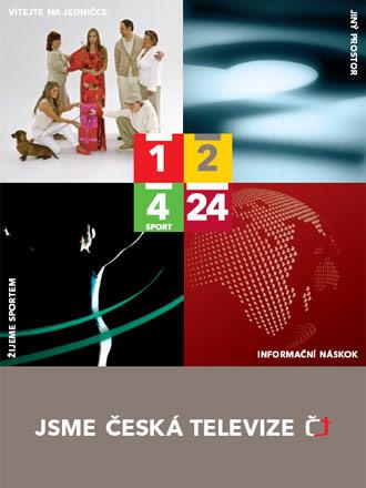 Nový vizuální styl ČT: JSME ČESKÁ TELEVIZE - Design portál