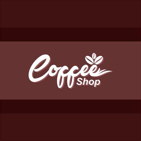 coffee shop logo design  vector vectorpic