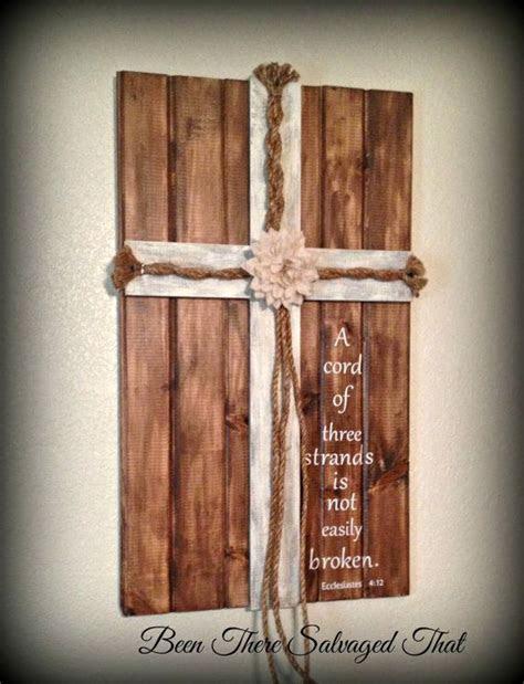 Wedding Cross, Unity Cords, A Cord of Three Strands