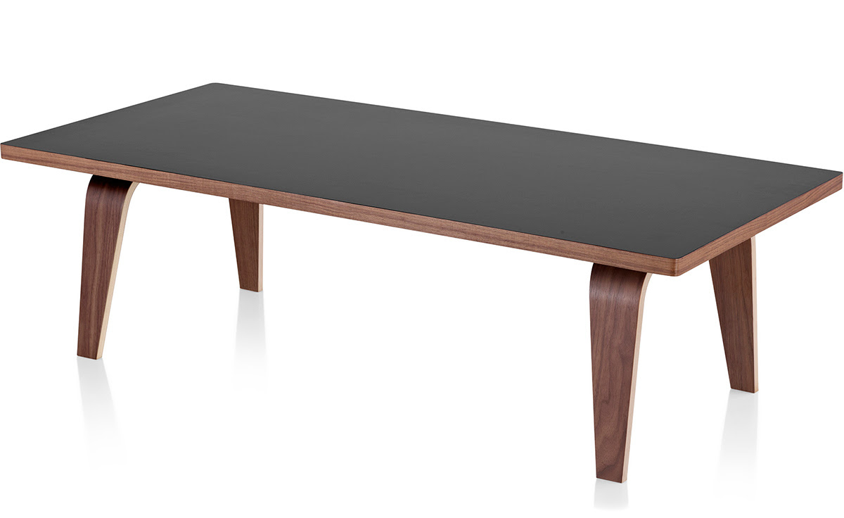 Eames Rectangular Coffee Table - hivemodern.com