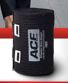Ace Black Bandage