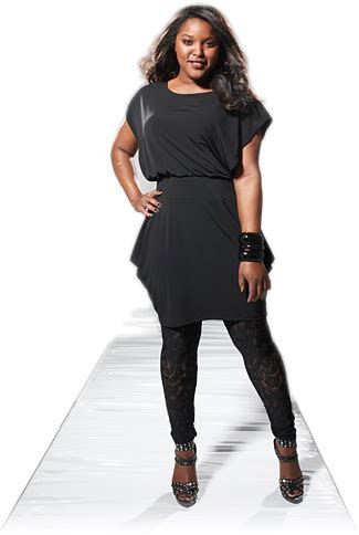 Plus size fashionable dresses  ASheClub.blogspot.com