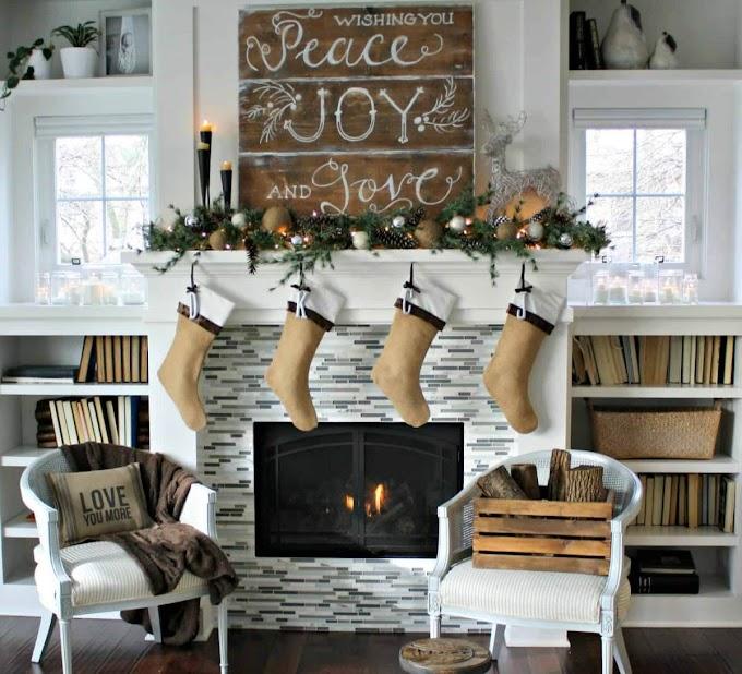 Χριστουγεννιάτικες διακοσμητικές ιδέες που δίνουν στον Santa μια φιλόξενη υποδοχή