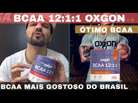 BCAA OXGON 12:1:1 O BCAA MAIS GOSTOSO DO BRASIL de Qualidade Bom e Barato comprando da Fábrica