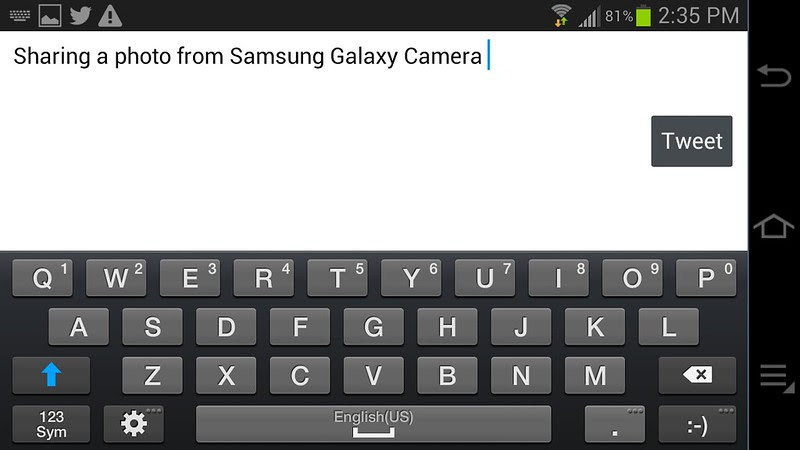 Samsung Galaxy Camera EK-GC100 Screenshots