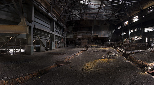 Interior of Blast Furnace B