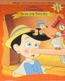 Pinocchio: Nose for Trouble (Disney's Storytime Treasures Library, #13)