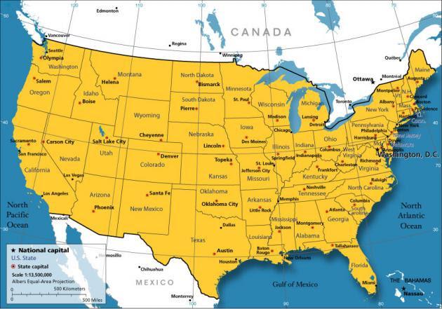 Να αποσχιστούν από τις ΗΠΑ ζητούν δυο πολιτείες!