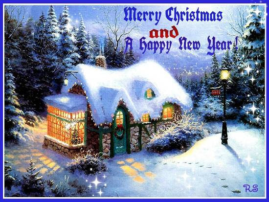 Christmas Greetings Happy New Year Free Good Tidings Ecards 123