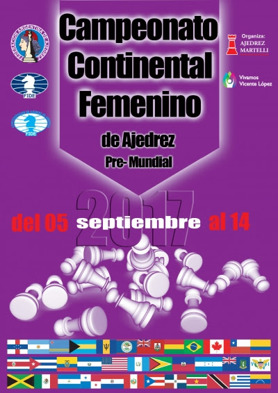 El 5 de Septiembre comienza el 10° Campeonato Continental Femenino