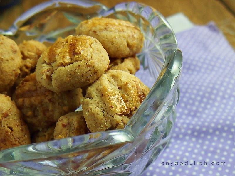 biskut kacang mazola simple  mudah enyabdullahcom Resepi Biskut Mazola Chef Hanieliza Enak dan Mudah