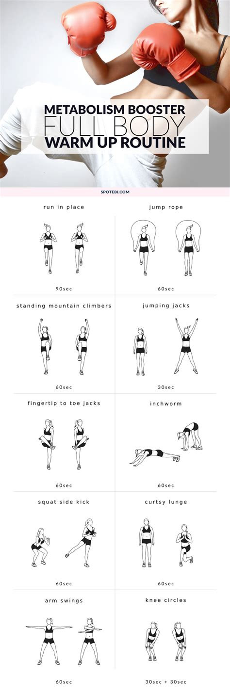 full body warm  exercises