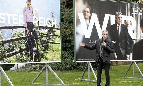 """Plakate: Van der Bellen setzt auf """"Heimat"""""""