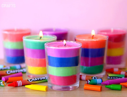 How to Make Crayon Candles: 21 DIY Ideas | Guide Patterns