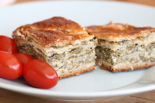 Spinach and feta pie / Spinati-fetapirukas