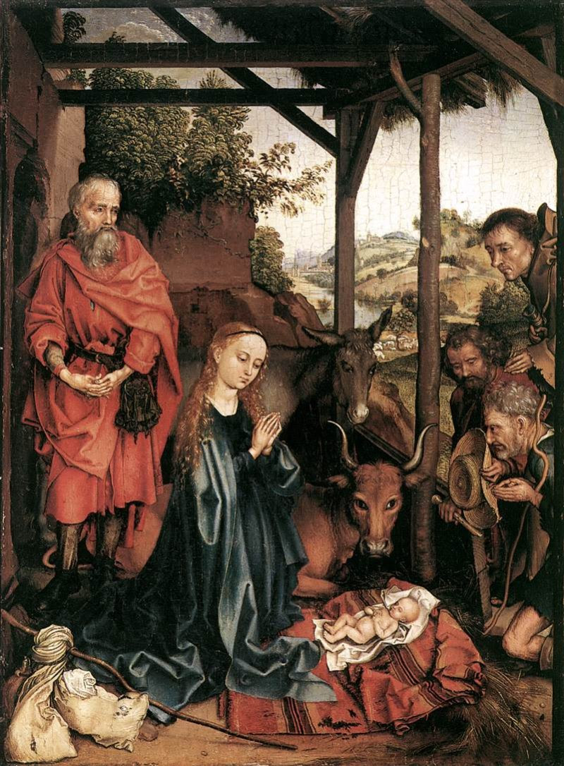 Martin Schongauer: The Nativity