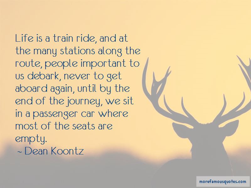 Life Is A Train Ride Quotes Top 9 Quotes About Life Is A Train Ride
