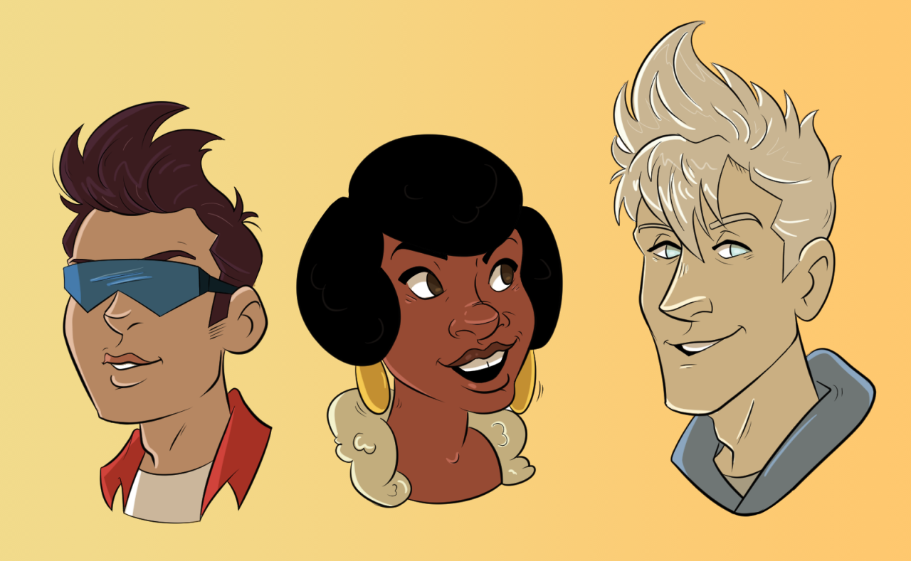The Cool Kids from Steven Universe.