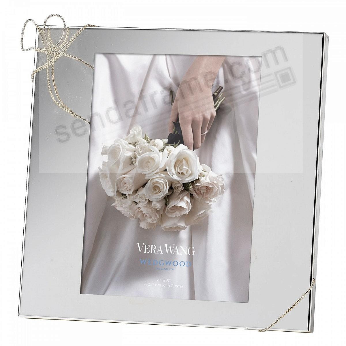 Love Knots Silver Pattern 4x6 Frame By Vera Wang Picture Frames